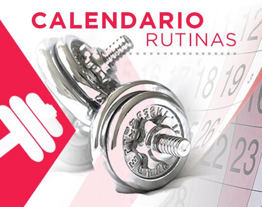 Icono Calendario RUTINAS